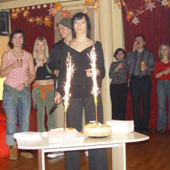Monika i12 lawek na swoim urodzinowym Salsa Party