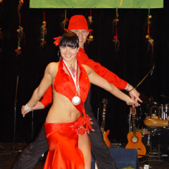 I miejsce na Primavera Salsa Open