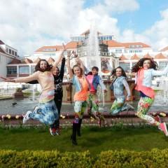 Tancerze i instruktorzy DA w TVP info
