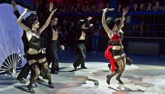 Formacja Dance Avenue w Warszawie na Festiwalu Salsy