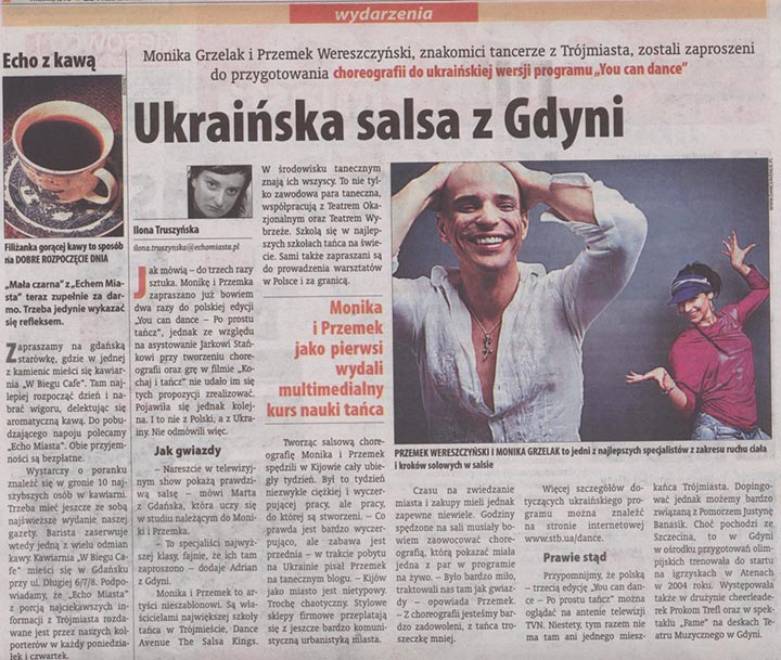 Ukraińska salsa z Gdyni