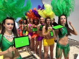Dance Avenue w reklamie Loteriady